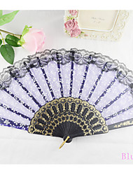 Snow Grains Hand Fan----Set of 4