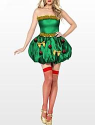christmas tree satin bulle déguisements jupe des femmes