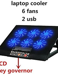 Laptop Cooler Laptop Cooling Rack Computer Fan Base Plate Cooling Pad Laptop Stand Notebook Cooler