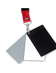 3-in-1 Digital Grey White Black Gray Balance Card Set Prem Cards