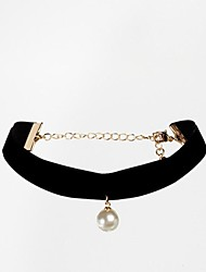 Women's European and American Trade Simple Pearl Necklace