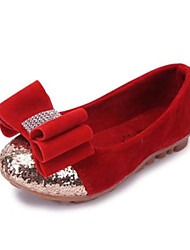 Girls' Shoes Comfort Round Toe Flat Heel Fleece Flats Shoes More Colors available