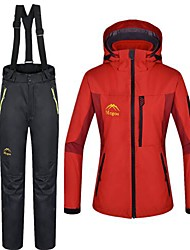 Outdoor Women's Clothing Sets/Suits / Woman's Jacket / Winter Jacket Waterproof / Thermal / Warm Winter Red S / M / L / XL / XXL