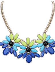 Луса богема цветок ожерелье