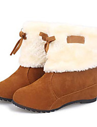 Zhuoyue Women's Fashion All-Match Snow Boots