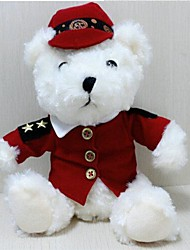 Unisex New England Royal Recording Dress Bear Plush Toy
