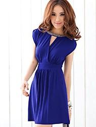 v-cuello sin respaldo atractiva fina cintura cordón de orden manual de cultivan su vestido de la moralidad 202037