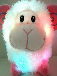 unisex as novas ovelhas rica coloridos brinquedos de pelúcia lideradas
