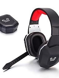 hg399 optische draadloze video games hoofdtelefoon over oor afneembare microfoon voor tv wii pc mac ps3 ps4 xbox 360 xbox één