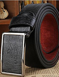 Men Waist Belt,Work / Casual Alloy / Leather All Seasons Christmas Gifts
