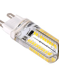 G9 4 W 80 SMD 3014 400 LM Warm White Dimmable Corn Bulbs AC 220-240 V