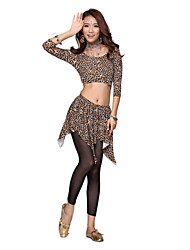 Belly Dance Dancewear Tulle Belly Dance Bottom Pencil Pants Leggings For Women