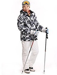 Men's Fashional Thermal Thick Waterproof Skiing Suits
