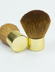 1pcs poussière d'or face du balai maquillage Manucure de l'outil cosmétique