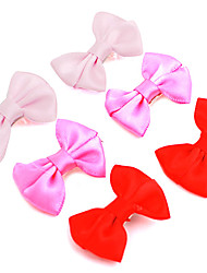 Hair Accessories for Dogs / Cats Red / Rose Spring/Fall Aluminum / Terylene