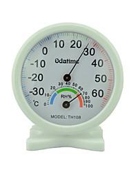 odatime TH-108 la temperatura y humedad interior y exterior metro-30 ℃ -60 ℃ clara y precisa