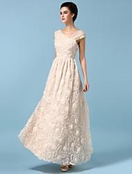 Sagetech@Women's One Shoulder Silk Elegent Formal Dress