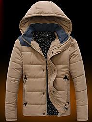 D2P mannenmode ongedwongen warme kap jas