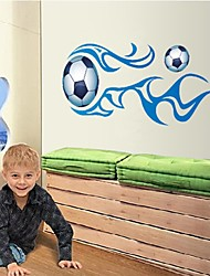 Wall Stickers Wall Decals, Cool Sport Football PVC Wall Stickers