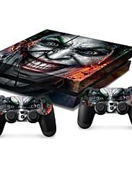 couverture autocollant de protection autocollant de la console PS4 de la peau du contrôleur de la peau