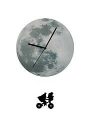 funlife® 12inch / 30cm luna luz de la luna con el péndulo y reloj de pared de acrílico extranjero