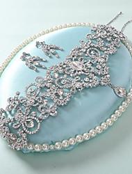 strass colar brincos casamento suíte nupcial decorado com variedade de caixa lugares presente -conjunto de 2