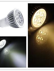 GU10 3w 200-250lm 3000-3500K / 6000-6500k chaude froide support / blanc de couleur de la lumière dimmable conduit ampoule spot (AC 110 / 220v)