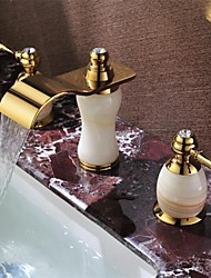 arrivée ti-pvd répandue laiton style antique cascade lavabo robinet