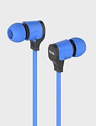 3,5 mm de volume estéreo controlável e universal fone de ouvido com microfone para iphone e outros telefones inteligentes (120cm)