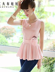 Women's Pink Shirt Sleeveless