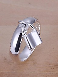Wholesale Perfect High Quality 925 Sterling Silver Fashion Jewelry Lock Ring
