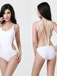 Women's Fashion Sexy New Design One Piece Spandex Fabric Swimwear