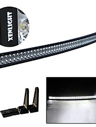 50 inch 288W Curved Led Work Light Bar Offroad Truck Spot Beam Driving Lamp
