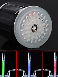 Battery-Free Colorful  RGB LED Faucet Light