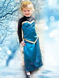 Verão vestido de princesa vestido da menina vestido de manga comprida