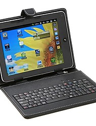 Sanshuai 9 Inch Universal Tablet Case with USB 2.0 QWERTY Keyboard