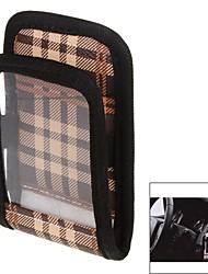 PU suave&teléfono móvil de bolsillo material de la tela para coche