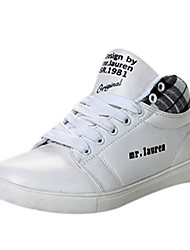 Boys' Shoes Comfort Flat Heel Leather Fashion Sneakers Shoes More Colors available
