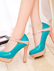 Women's Chunky Heel Round Toe Heels Shoes (More Colors)