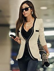 Falari Women's New Korean Causal Slim Blazer