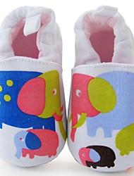 Zapatos de bebé - Mocasines - Exterior / Vestido / Casual - Tejido - Negro / Rosa