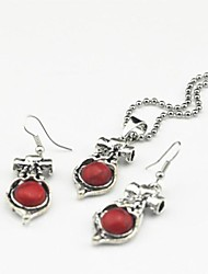 Jewelry Necklaces / Earrings Party / Daily Gem Women Beige / Red / Green Wedding Gifts