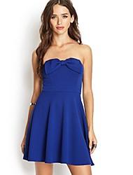 sujetador azul vestidos de falda de la princesa del vestido de las mujeres