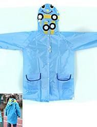 School Bus Children Raincoat - Blue
