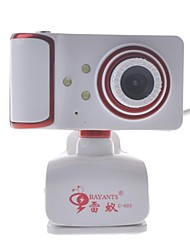 rayants c-003 8.0MP HD Webcam con la luce di visione notturna / micphone