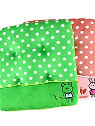 "13"" Square Round Dot Cartoon Plush Keep Warm Lovely Decorative Children Chair Cushion"