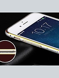 Personalized Engraved Exquisite Gold-Laced Metal Bumper Frame Shell for 5.5 Inch iPhone 6 Plus (Black,Pink,Gold,Silver)