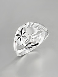 2016 Noble Hot Fashion Women 925 Sterling Silver Statement Ring