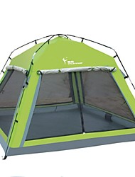 FlyTop ® 3-4 Person Rain-Proof Fold Tent for Beach Camping LZ03