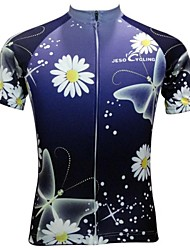 Jesocycling® Women's New Design Spring And Summer Breathable  Polyester Short Sleeve Cycling Jersey